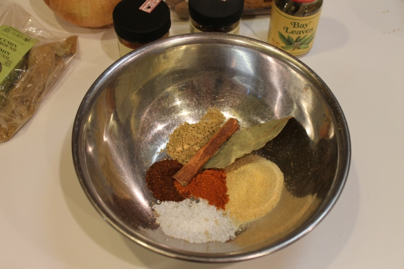 Mixing Spices